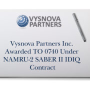 Vysnova Partners Inc. Awarded TO 0740 Under NAMRU-2 SABER II IDIQ Contract