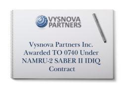 Vysnova Partners Inc. Awarded TO 0740 Under NAMRU-2 SABER II IDIQ Contract