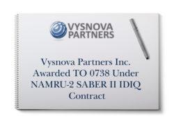 Vysnova Partners Inc. Awarded TO 0738 Under NAMRU-2 SABER II IDIQ Contract